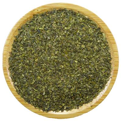 Organic Green Tea Leaf Fanning
