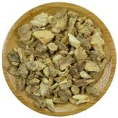Organic Ginger Rhizome Loose Cut 4-10mm