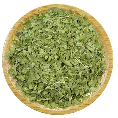 Organic Lemon Verbena Leaf Pyramid Cut 4-6mm