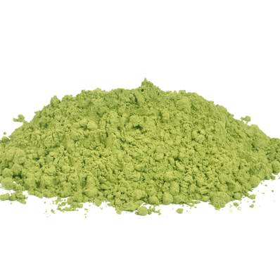 Green Tea Leaf Powder 300µm 2% Caffeine