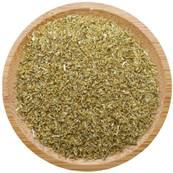 Organic Chamomile Pollen Tea Bag Cut